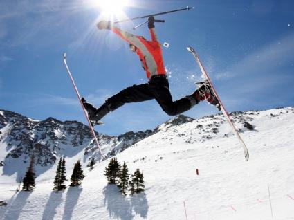 Ski Jump Wallpaper Ski Sports