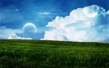 Sky Field Planet