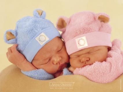 Sleeping Together Babies