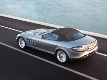 SLR 2008 Top Up Wallpaper Mercedes Cars