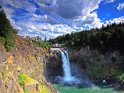 Snoqualmie Falls Wallpaper Waterfalls Nature