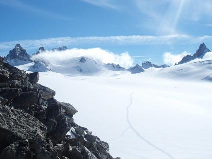Snow plateau Wallpaper Winter Nature