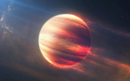 Space Fire Planet 4K