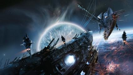 Space War Game Scene