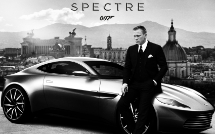 Spectre Daniel Craig Aston Martin DB10