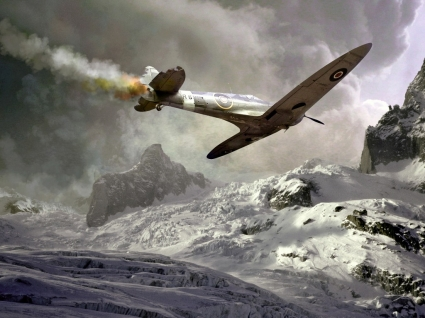 Spitfire Wallpaper Military Aircrafts Planes