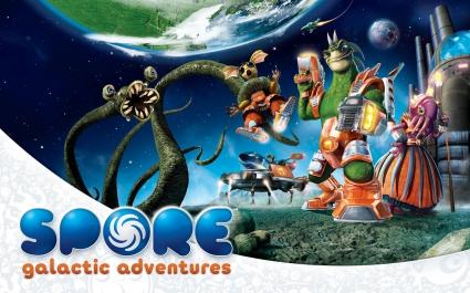 Spore Galactic Adventures Game