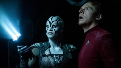 Star Trek Beyond Sofia Boutella Simon Pegg