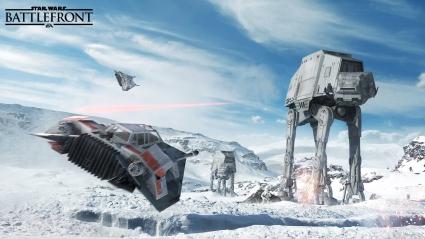 Star Wars Battlefront AT AT