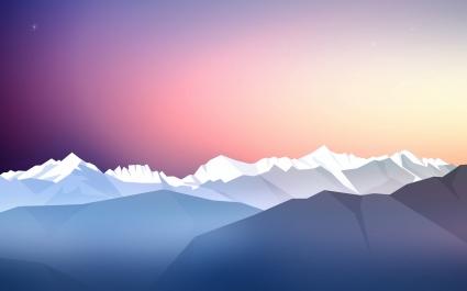Stars Sky Twilight Sunset