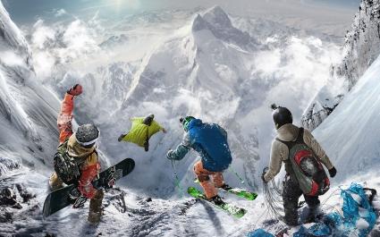 Steep Extreme Sport Game 4K