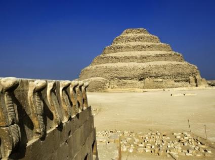 Step Pyramid Wallpaper Egypt World
