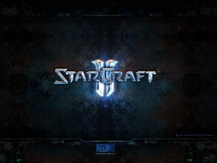 Stracraft 2 Logo Wallpaper Starcraft 2 Games