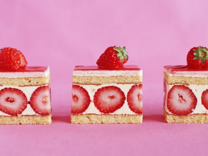 Strawberry Cake Wallpaper Miscellaneous Other
