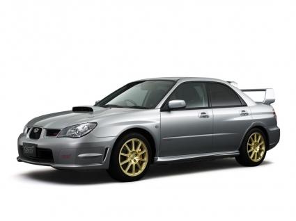 Subaru Impreza WRX STI Front and Side Wallpaper Subaru Cars