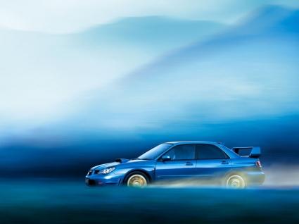 Subaru Impreza WRX STI Speed Wallpaper Subaru Cars