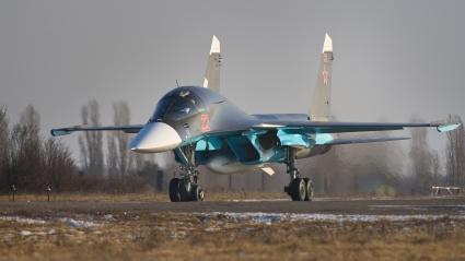 Sukhoi Su 34 Russian Fighter