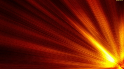 Sun Glow Abstract