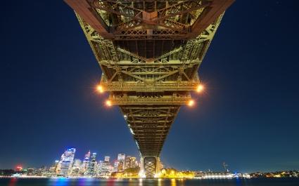 Sydney Bay Bridge