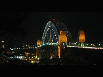 Sydney Harbour Bridge Aglow Wallpaper Australia World