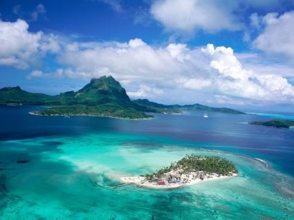 Tahiti Wallpaper Beaches Nature