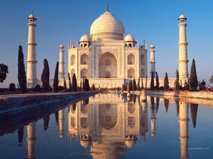 Taj Mahal Agra India HD