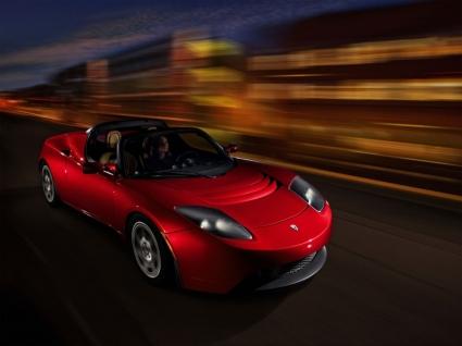 Tesla Roadster Red Wallpaper Tesla Cars