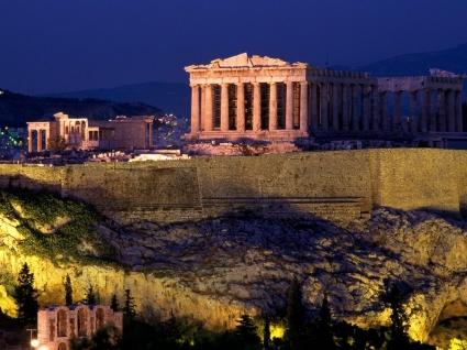 The Acropolis Wallpaper Greece World