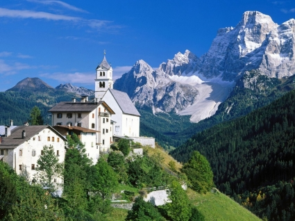 The Dolomites Wallpaper Italy World