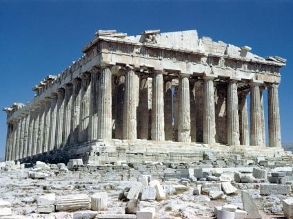 The Parthenon Wallpaper Greece World