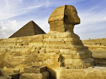The Sphinx Near Cairo Egypt