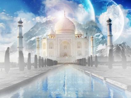 The Taj Mahal Wallpaper India World