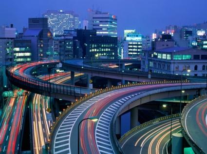 Tokyo at Night Wallpaper Japan World