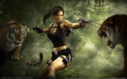 Tomb Raider Underworld Game Widescreen