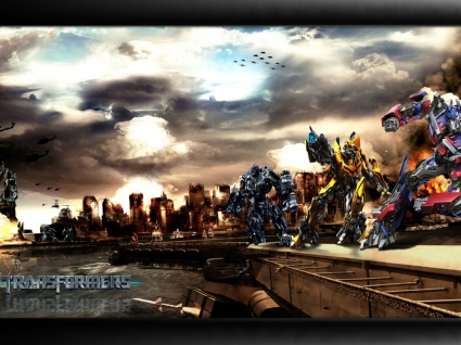 Transformers Autobot Vs Decepticons Wallpaper Transformers 2 Movies
