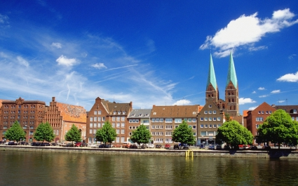 Trave River Germany