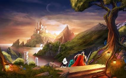 Trine 2 Heading for Castle
