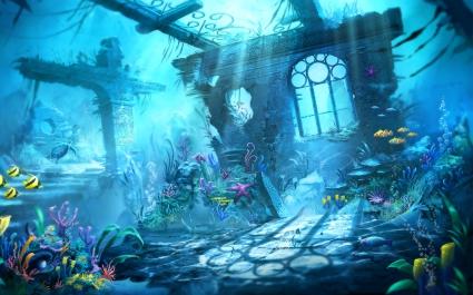 Trine Underwater Scene