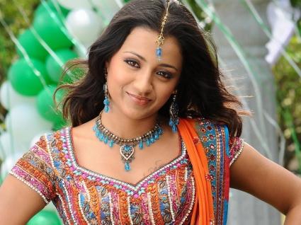 Trisha in Telugu Movie
