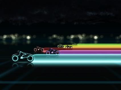 Tron Legacy Lightcycle Race