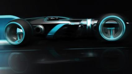 Tron Super Lightcycle HD