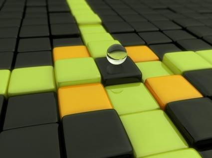 Uniqueness Wallpaper Abstract 3D