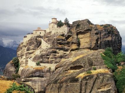 Varlaam Monastery Wallpaper Greece World