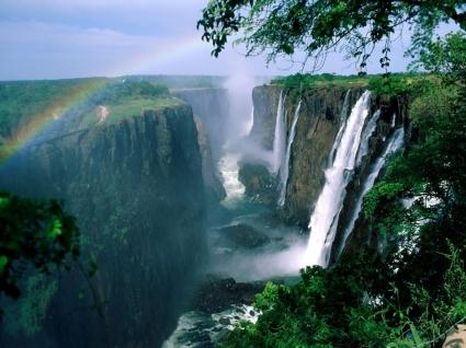 Victoria Falls Wallpaper Waterfalls Nature