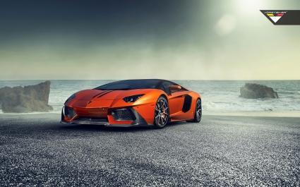 Vorsteiner Lamborghini Aventador V Zaragoza 2014
