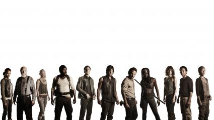 Walking Dead Cast 4K