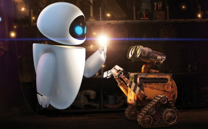 WALL E and EVE