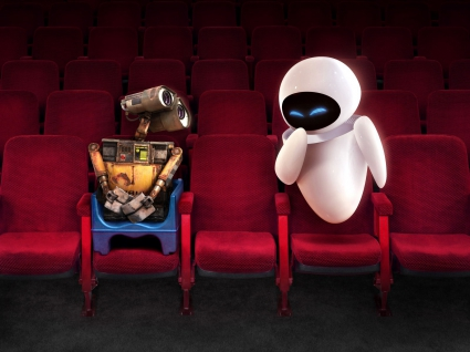Wall E and EVE in Theater