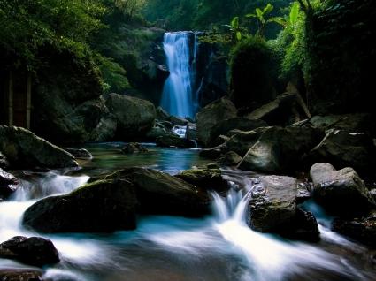 Waterfall Wallpaper Waterfalls Nature