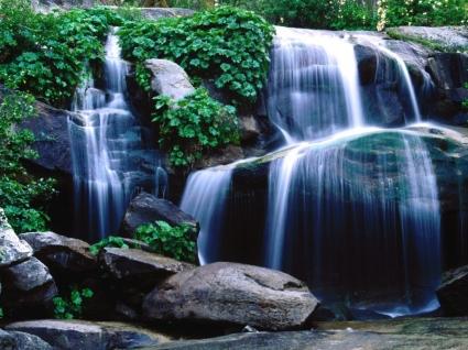Whiskey Falls Wallpaper Waterfalls Nature
